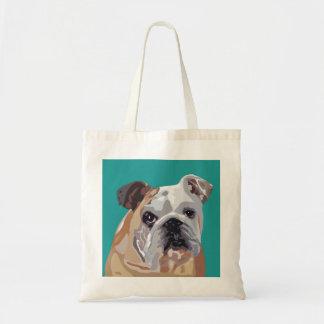 English Bulldog - British Bulldog Tote Bag