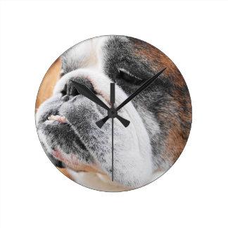English Bulldog Clock