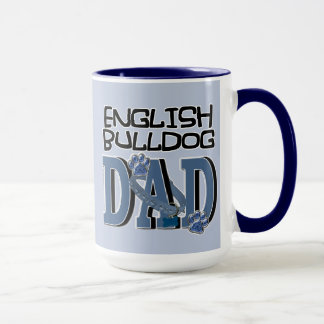 English Bulldog DAD Mug