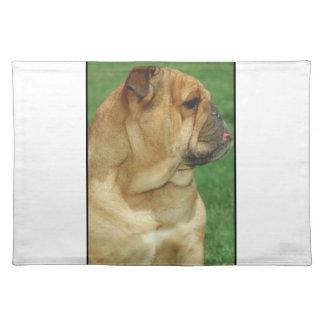 English Bulldog Dog Placemat