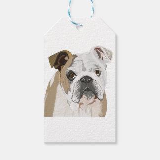 English Bulldog Gift Tags