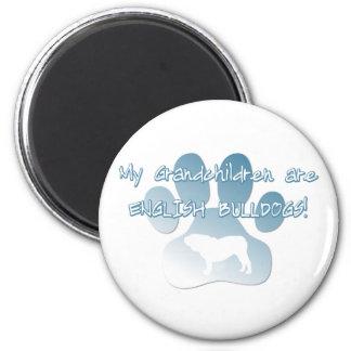 English Bulldog Grandchildren Magnet