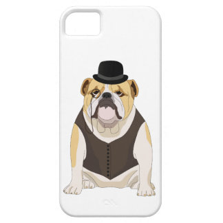 English Bulldog iPhone 5 Cases