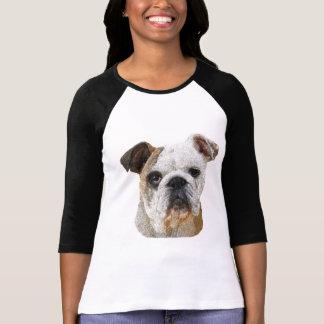 English Bulldog Lady's Shirts