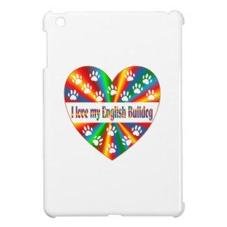 English Bulldog Love iPad Mini Cases