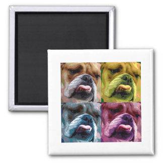 English bulldog magnet