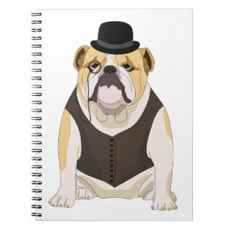 English Bulldog Note Book