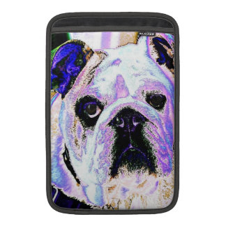 English Bulldog Pop Art MacBook Sleeve