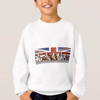 English bulldog puppies sweatshirt