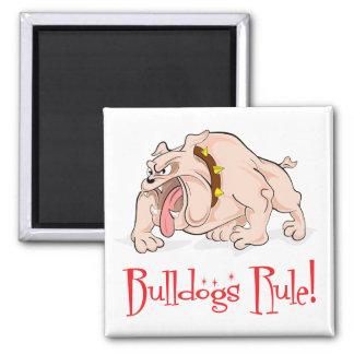 English Bulldog Puppy Dog Cartoon Magnet