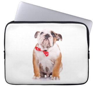 English Bulldog Puppy Dog Computer Case Sleeve