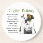 English Bulldog Puppy Heritage of Love Coaster