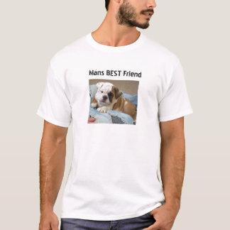English Bulldog Puppy T-shirt Tee