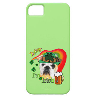 English Bulldog St Patricks Day iPhone 5 Cases