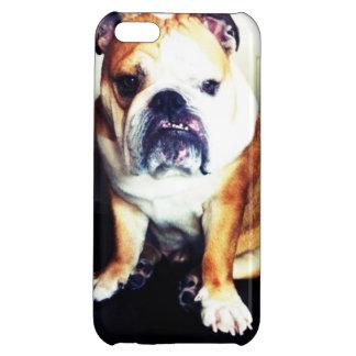 English Bulldog Staring Contest iPhone Case