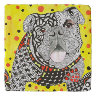 English Bulldog Trivet