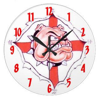 English Bulldog Wall Clock