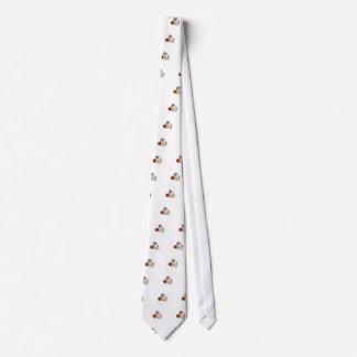 English Bulldog with Basketball Tie