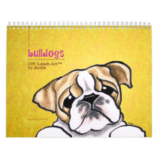 English Bulldogs Off-Leash Art™ Vol 1 Calendars