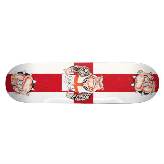English Bulldogs Tattoos and St Georges Cross Skateboards
