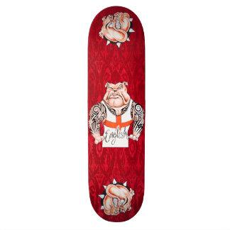 English Bulldogs Tattoos Tribal Tattoos Skate Board Decks