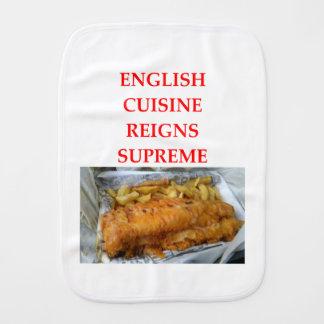 ENGLISH BURP CLOTH
