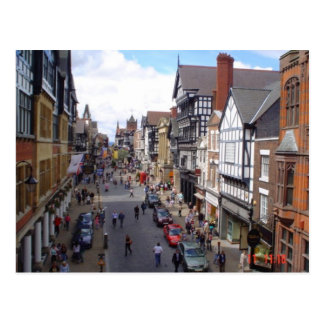 English City of Chester Postcard