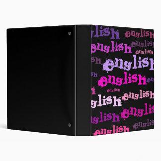 English class binders