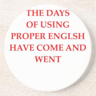 ENGLISH COASTERS