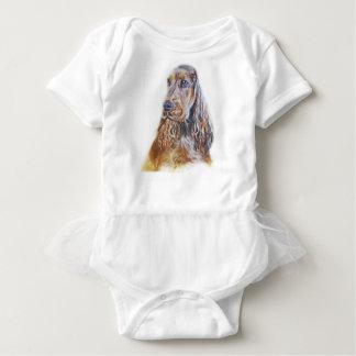 English Cocker Spaniel Baby Bodysuit