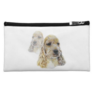 English Cocker Spaniel Cosmetics Bags