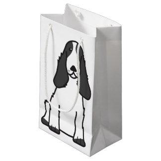 English Cocker Spaniel Dog Cartoon Small Gift Bag