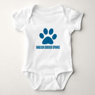 ENGLISH COCKER SPANIEL DOG DESIGNS BABY BODYSUIT
