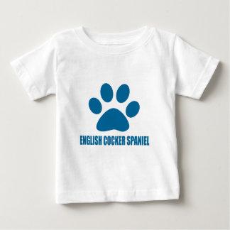 ENGLISH COCKER SPANIEL DOG DESIGNS BABY T-Shirt