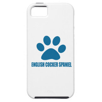 ENGLISH COCKER SPANIEL DOG DESIGNS CASE FOR THE iPhone 5