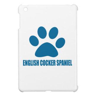 ENGLISH COCKER SPANIEL DOG DESIGNS iPad MINI CASE