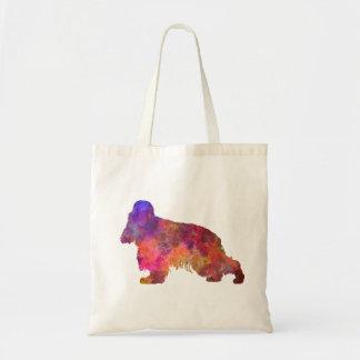 English Cocker spaniel in watercolor Tote Bag
