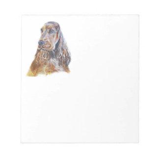 English Cocker Spaniel Notepad