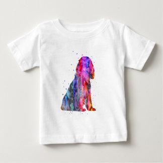 English Cocker Spaniel, watercolor Cocker Spaniel Baby T-Shirt