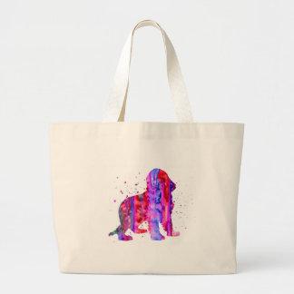 English Cocker Spaniel, watercolor Cocker Spaniel, Large Tote Bag