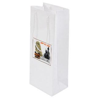 English Cocker Spaniel Wine Gift Bag