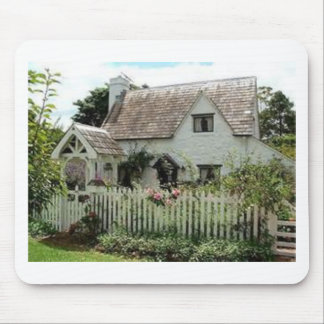 English Cottage Mouse Pad