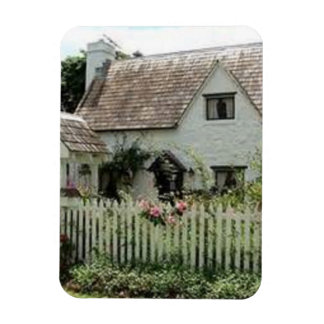 English Cottage Rectangular Photo Magnet