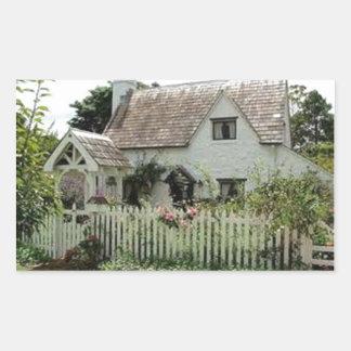 English Cottage Sticker