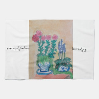 English country kitchen towel