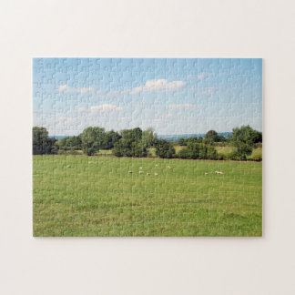 English countryside jigsaw puzzle