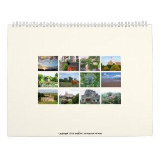 English Countryside Photos 2016 Calendar
