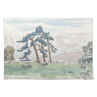 English Countryside Placemat
