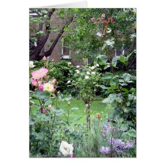 English Courtyard, S Cyr Card