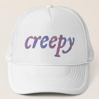 English CREEPY in Watercolor Trucker Hat